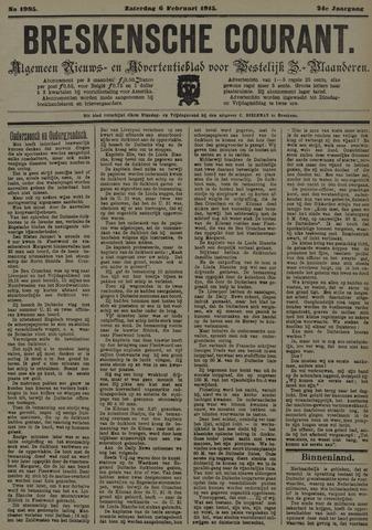 Breskensche Courant 1915-02-06