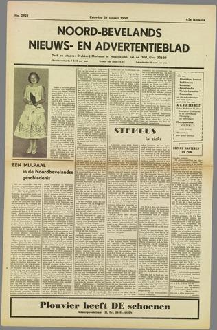 Noord-Bevelands Nieuws- en advertentieblad 1959-01-31