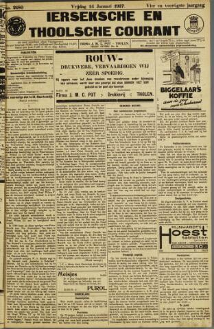 Ierseksche en Thoolsche Courant 1927-01-14