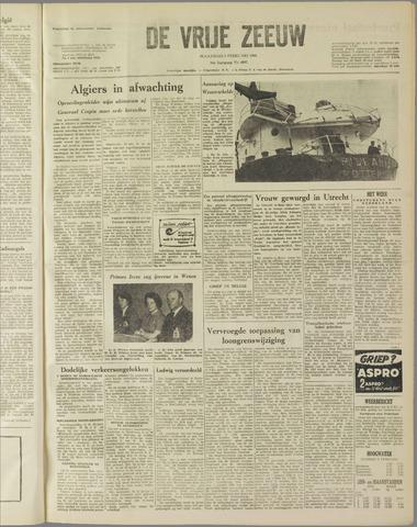 de Vrije Zeeuw 1960-02-01