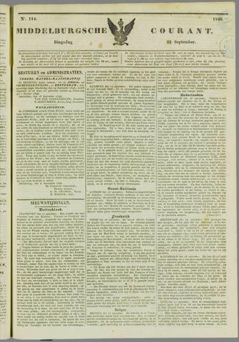 Middelburgsche Courant 1846-09-22