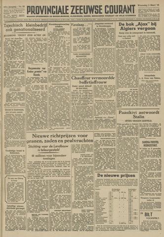 Provinciale Zeeuwse Courant 1948-03-03