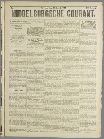 Middelburgsche Courant 1925-06-24