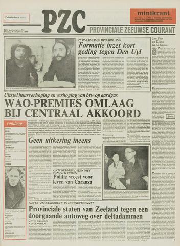 Provinciale Zeeuwse Courant 1977-11-01
