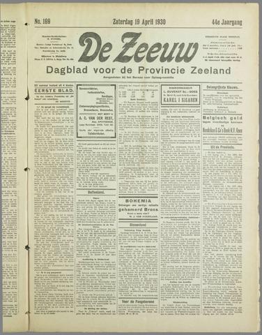 De Zeeuw. Christelijk-historisch nieuwsblad voor Zeeland 1930-04-19