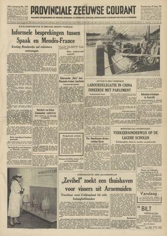 Provinciale Zeeuwse Courant 1954-08-19