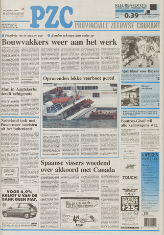 Provinciale Zeeuwse Courant 1995-04-18