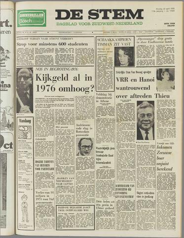de Stem 1975-04-22