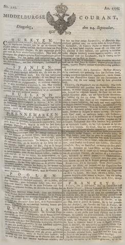Middelburgsche Courant 1776-09-24