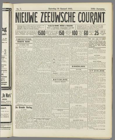 Nieuwe Zeeuwsche Courant 1915-01-16