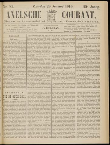 Axelsche Courant 1910-01-29