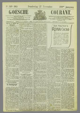 Goessche Courant 1913-11-27