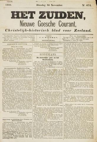 Het Zuiden, Christelijk-historisch blad 1880-11-16