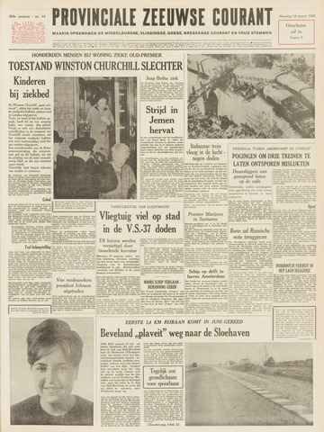 Provinciale Zeeuwse Courant 1965-01-18