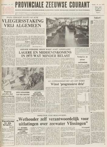 Provinciale Zeeuwse Courant 1972-06-20