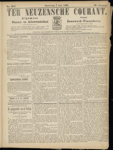 Ter Neuzensche Courant. Algemeen Nieuws- en Advertentieblad voor Zeeuwsch-Vlaanderen / Neuzensche Courant ... (idem) / (Algemeen) nieuws en advertentieblad voor Zeeuwsch-Vlaanderen 1900-06-07