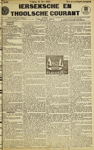 Ierseksche en Thoolsche Courant 1925-05-15