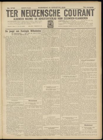Ter Neuzensche Courant. Algemeen Nieuws- en Advertentieblad voor Zeeuwsch-Vlaanderen / Neuzensche Courant ... (idem) / (Algemeen) nieuws en advertentieblad voor Zeeuwsch-Vlaanderen 1938-08-10