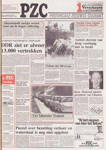 Provinciale Zeeuwse Courant 1989-11-06