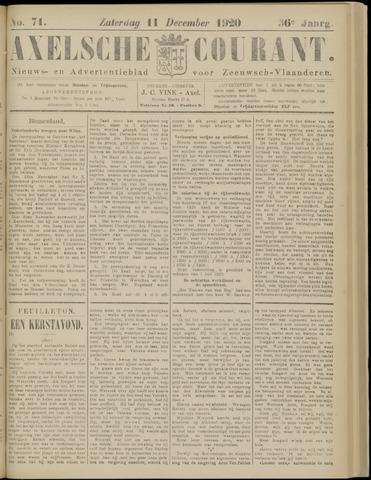 Axelsche Courant 1920-12-11