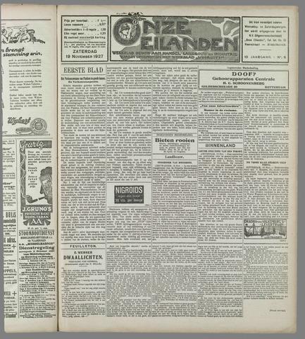 Onze Eilanden 1927-11-19