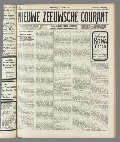 Nieuwe Zeeuwsche Courant 1912-06-22