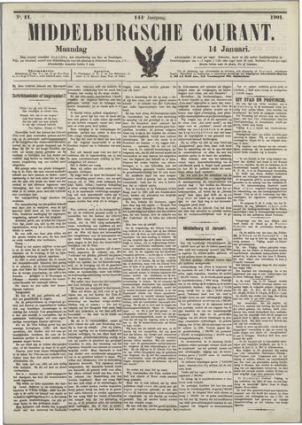 Middelburgsche Courant 1901-01-14