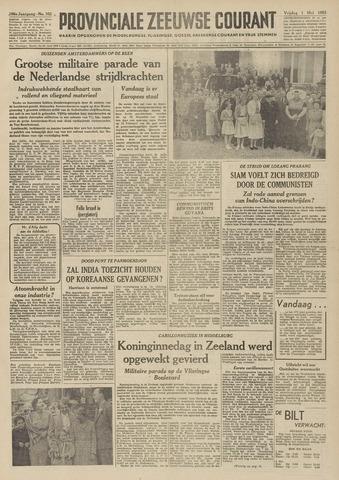 Provinciale Zeeuwse Courant 1953-05-01