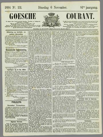 Goessche Courant 1894-11-06