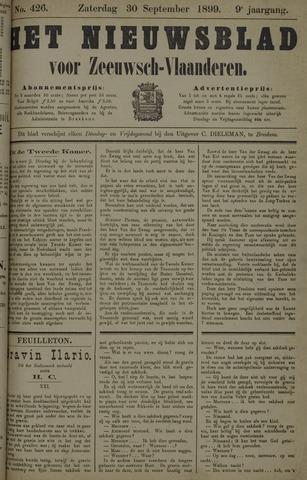 Nieuwsblad voor Zeeuwsch-Vlaanderen 1899-09-30