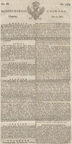 Middelburgsche Courant 1764-07-24