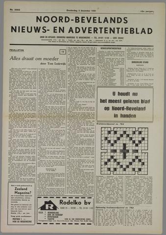 Noord-Bevelands Nieuws- en advertentieblad 1981-12-03