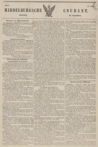 Middelburgsche Courant 1852-09-25