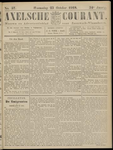 Axelsche Courant 1918-10-23