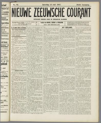 Nieuwe Zeeuwsche Courant 1907-07-13