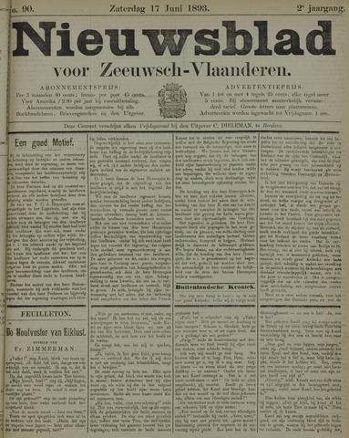 Nieuwsblad voor Zeeuwsch-Vlaanderen 1893-06-17