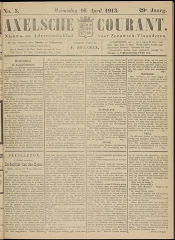 Axelsche Courant 1913-04-16
