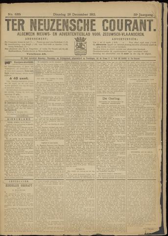Ter Neuzensche Courant. Algemeen Nieuws- en Advertentieblad voor Zeeuwsch-Vlaanderen / Neuzensche Courant ... (idem) / (Algemeen) nieuws en advertentieblad voor Zeeuwsch-Vlaanderen 1915-12-28