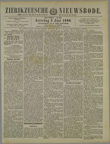 Zierikzeesche Nieuwsbode 1906-06-02