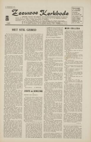 Zeeuwsche kerkbode, weekblad gewijd aan de belangen der gereformeerde kerken/ Zeeuwsch kerkblad 1966-08-11