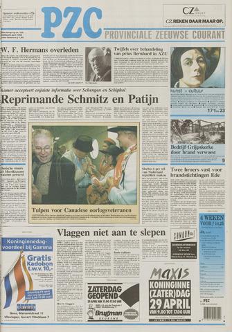 Provinciale Zeeuwse Courant 1995-04-28