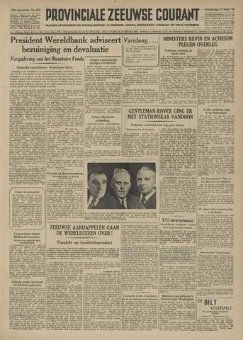 Provinciale Zeeuwse Courant 1949-09-15