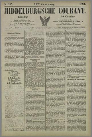 Middelburgsche Courant 1884-10-28