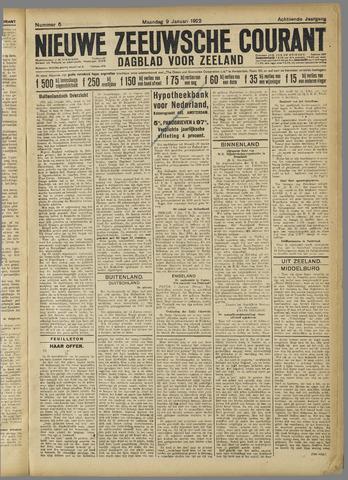 Nieuwe Zeeuwsche Courant 1922-01-09