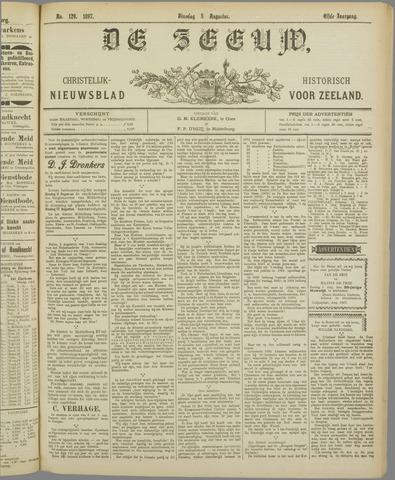 De Zeeuw. Christelijk-historisch nieuwsblad voor Zeeland 1897-08-03