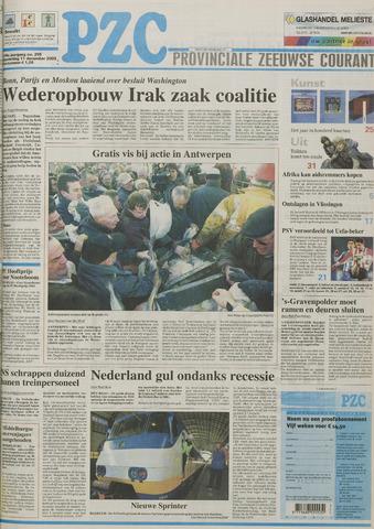 Provinciale Zeeuwse Courant 2003-12-11