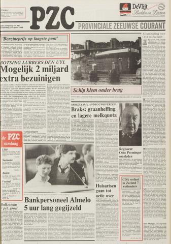Provinciale Zeeuwse Courant 1986-04-24