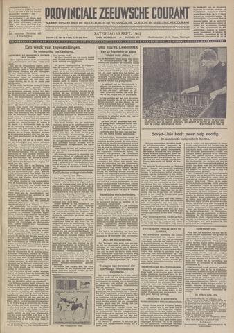 Provinciale Zeeuwse Courant 1941-09-13