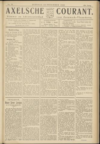 Axelsche Courant 1933-12-12