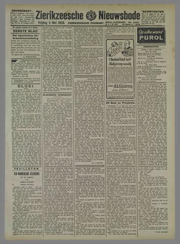 Zierikzeesche Nieuwsbode 1933-05-05